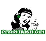 St. Patrick's Day T-shirts. Proud IRISH Girl.