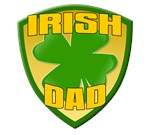 Irish Dad T-shirts. Get the Irish T-shirts for you