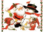 SNOWMAN - SANTA | CHRISTMAS T-SHIRTS AND GIFTS