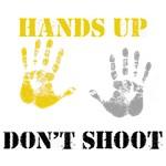 Hands up don' shoot. Ferguson