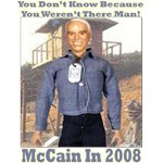 McCain P.O.W. Campaign Doll