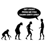 Evolution - Damn Dirty Apes!