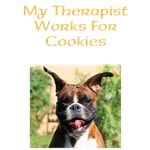 My therapist works for cookies design