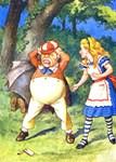 ALICE & TWEEDLE DUM