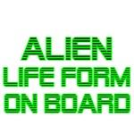 ALIEN LIFE FORM ON BOARD