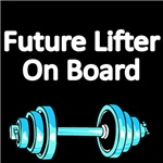 FUTURE LIFTER ON BOARD. WITH PICTURE OF WEIGHTS