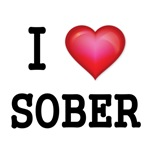 I LOVE SOBER