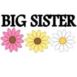 BIG SISTER WITH FLOWER PICTURES