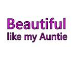Beautiful like my Auntie