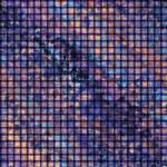 Purple Metal Effect Basket Weave