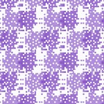 Purple and White Digital Squares Pattern