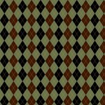 Black and Brown Argyle Pattern