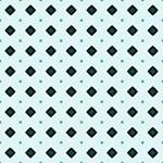Turquoise Diamond Shapes Pattern