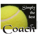 BEST TENNIS COACH/TRAINER T-SHIRTS AND GIFTS