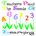TEACHER PLANT SEEDS OF LEARNING TEES AND GIFTS