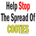 HELP STOP THE SPREAD OF COOTIES TEES AND GIFTS