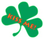 Kiss Me St. Patty's Shamrock Gifts