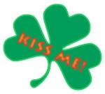 Kiss Me St. Patty's Shamrock Gifts