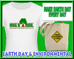 Earth Day T-shirts & Gift Ideas