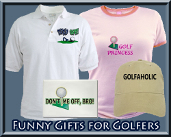 Funny Gifts for Golfers