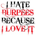 I hate Burpees