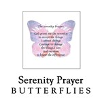 Serenity Prayer Butterfly Section