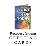 Recovery Slogan <br>Greeting Cards Section