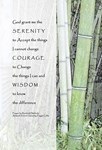 Serenity Prayer Bamboo