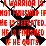A Warrior Is Not Finished