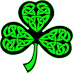 3 Leaf Celtic Shamrock Clover