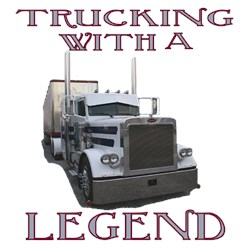 Trucking With A Legend