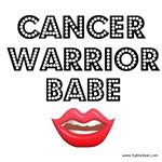 Cancer Warrior Babe T-Shirts & Gifts