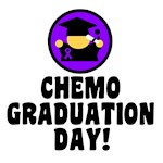 Chemo Graduation Day Hodgkin's Disease T-Shirts