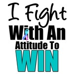 I Fight With An Attitude Thyroid T-Shirts