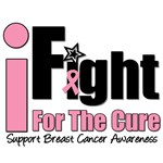 I Fight For The Cure Breast Cancer T-Shirts