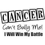Cancer Can't Bully Me T-Shirts & Gifts
