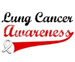 Lung Cancer Awareness Grunge T-Shirts & Gifts