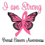I Am Strong Breast Cancer T-Shirts