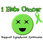 I Hate Cancer Support Lymphoma Awareness T-Shirts