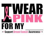 I Wear Pink Ribbon Bold Shirts & Gifts