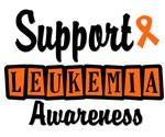 Support Leukemia Awareness (Retro Style) T-Shirts