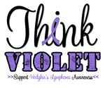 Think Violet Hodgkin's Lymphoma T-Shirts & Gifts