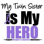 Hodgkin's Lymphoma Hero (Twin Sister) Shirts