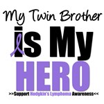 Hodgkin's Lymphoma Hero (Twin Brother) Shirts