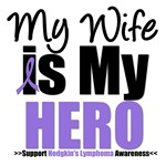 Hodgkin's Lymphoma Hero (Wife) Shirts