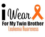 I Wear Orange For My Twin Brother T-Shirts