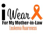 I Wear Orange For My Mother-in-Law T-Shirts