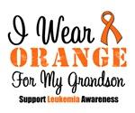 I Wear Orange For My Grandson Grunge Shirts