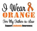 I Wear Orange Father-in-Law Grunge Shirts