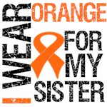 I Wear Orange For My Sister Shirts & Gifts